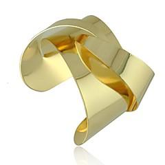 Női Elbűvölő karkötők Bilincs karkötők Ötvözet Egyedi Divat nyilatkozat ékszerek Ékszerek Ezüst Aranyozott Ékszerek 1db