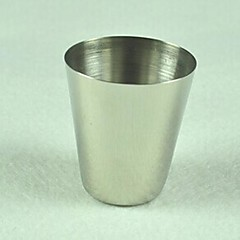 1 ounce rustfrit stål multi-funktion cup