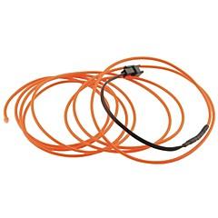 auto carro 2m de comprimento 2,3 milímetros de diâmetro flexível el rope- tira neon fio incandescente (12v)