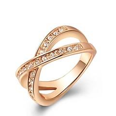 Ring Women's Rose Gold Rose Gold 5 / 6 / 7 / 8 / 9 Pink Gold