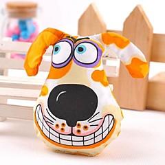 애완 동물 개를 위해 (모듬 색상)을 장난감을 씹는 사랑스러운 다른 강아지 패턴 모양의 캔버스