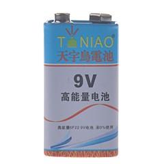 TianNiao 9V Zinc -Manganese Carbon Battery(1PCS)