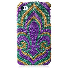 A Flower Bling Case PC Hard Case for iPhone 4/4S