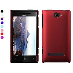 Mert HTC tok Jeges Case Hátlap Case Egyszínű Kemény PC HTC