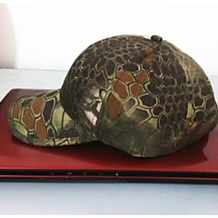 ESDY Fishing Outdoor Windproof Polyester Camouflage Hat Baseball Cap Sun Visor Mountain Color Python