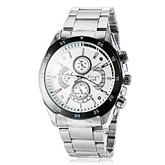 Men's Round Dial Alloy Band Quartz Wrist Watch (Assorted Colors) Cool Watch Unique Watch Fashion Watch