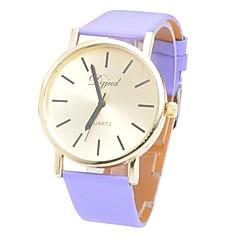 Unisex-Mode glatte Rundriemen Porzellanwerk Uhr (farblich sortiert) watch