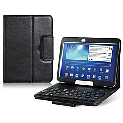 """Kunstleder-Schlagfall mit eingebauter bluetooth Tastatur für Samsung Galaxy Tab P5200 3 10.1 """"Tablet PC (Farbe sortiert)"""