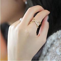 指輪 結婚式 / パーティー / 日常 / カジュアル ジュエリー 合金 バンドリング8