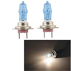 Carking™ HOD H7 100W 5500K Ultra Bright Car Warm White Light Bulbs (DC 12V/Pair)