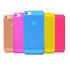 아이폰 5 / 5S PP에 매우 얇은 0.01 인치 / 0.3 mm 소프트 케이스 (모듬 색상)