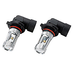 Marsing® High Power 9005 30W 2800LM 6*Osram LED 6500K White Light Car Fog / Head Light (12V / 2pcs)