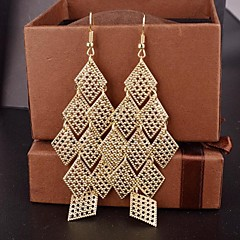 Earring Drop Earrings Jewelry Women Alloy 2pcs Silver