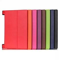 10.1 tommer høj kvalitet pu læderetui til lenovo yoga B8000 / b8080 (assorterede farver)