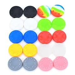 Anti-slip Silicone Analog Thumb Stick/Joystick Caps for Xbox 360 PS3 /PS2 (Multicolored,20 PCS)