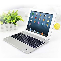 Plug-in Magnetic Slim Bluetooth Keyboard Cover for iPad 2/3/4
