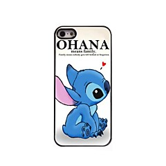 ohana significa hard case de alumínio design para iPhone 5 / 5s