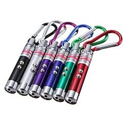 조명 열쇠고리 손전등 LED 루멘 모드 - LR44 응급 / 작은 사이즈 / 주머니 / 자외선 캠핑/등산/동굴탐험 / 일상용 / 드라이빙 / 일 / 야외 / 낚시 / 여행 알루미늄 합금