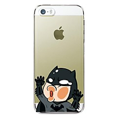 iPhone 5/iPhone 5S - Anden - Tegneserie/Specielt Design/Nyhed/Anime ( Multi-Farve , TPU )