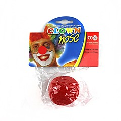 grać klauna czerwony nos