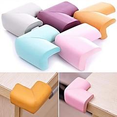 pehmeä vauvan turvallinen kulmasuojan pöytä kirjoituspöytä nurkkaan vartija, NBR 60 * 60 * 12mm (random väri)