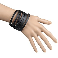 A number Of Fine Leather Wrapped Gifts Everyday Casual Leather Bracelet