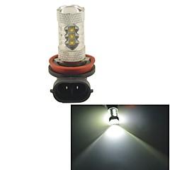 Carking™ Auto Car H8 80W 16SMD LED Headlight Fog Light Bulb-White(12V 1PC)