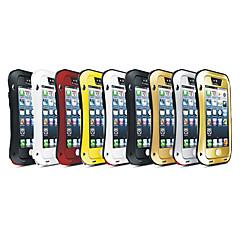 novo amor mei antichoc etanche robuste caso, a proteção de metal para iPhone 5 / 5s (cores sortidas)
