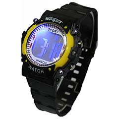 Damen Modeuhr Armbanduhr Quartz Caucho Band Karton Schwarz Marke
