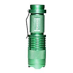 toread tejb90651 3 en mode 1x LED Cree agrandir lampe led (140-200lm, 1x14500 / 1xAA, couleurs assorties)