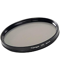 Tianya 62mm cpl Filtre polarisant circulaire pour Pentax 18-135 18-250 18-200 mm Tamron lentilles