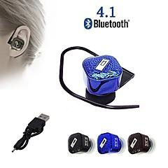 Q1 Universal Super Mini Stereo Wireless Bluetooth V4.1 Headphone Ear Hook Earphone with Mic for iPhone 6 Samsung