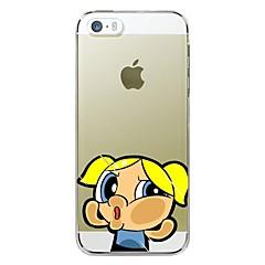 Desenho Animado/Design Especial/Novidade/Anime - iPhone 5/iPhone 5S - Outro ( Multi-Côr , TPU )