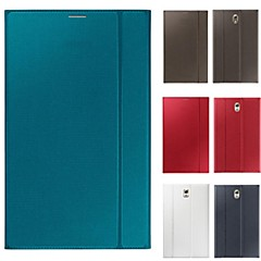 2015NEW original official Leather Book cover Case with Stand for Samsung Galaxy Tab S 8.4(Assorted Color)