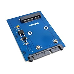 "Slim soort mini pci-e mSATA SSD 2,5 ""sata 3.0 22pin hdd adapter harde schijf pcba"