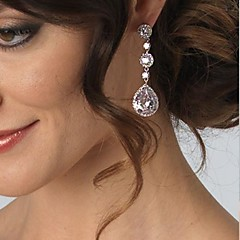 Fashing Wedding Party Birde CZ Crystal Earring