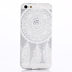 Design Especial/Transparente/Ultra Slim/Feito na China/Flor/Filtro dos Sonhos - iPhone 5/iPhone 5S - Capa traseira ( Colorido , PUT )
