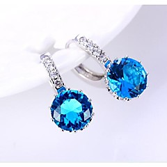 Fashion The Blue Danube Silver-Plated  Earrings  (More Color)