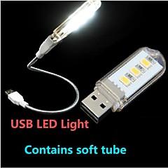KLW - 1.5 - W - USB Natlys/LED Læselys