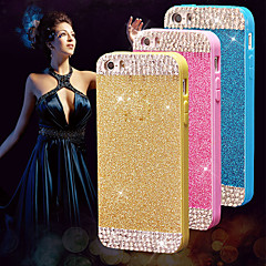 Style Diamant - Coque - pour iPhone 5/iPhone 5S ( Noir/Blanc/Bleu/Rose/Or/Argent/Orange , PUT )