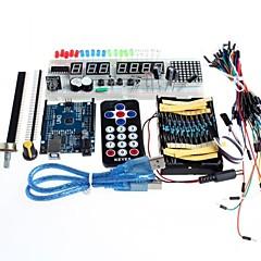 Elektronikus alkatrészek Starter Kit kezdőcsomag tanulási készlet Arduino
