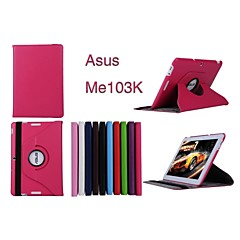 "Asus  MeMO Pad 10ME103K Tablet Case Cases With Stand/Full Body Cases 10.1"" for Asus Solid Colors(Assorted Color)"
