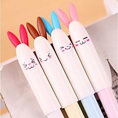 Lovely Rabbit Rabbit Neutral Pen (Random color)