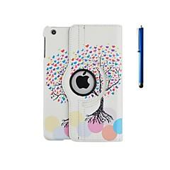 Spesielt Design - 360⁰ Cases - Eple iPad 2/iPad 4/iPad 3 - ( PU / Lær , Diverse Farger )