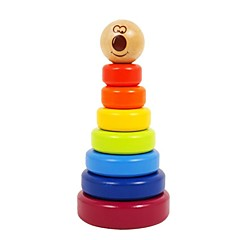 benho bjørk regnbue stabler tre utdanning baby leketøy