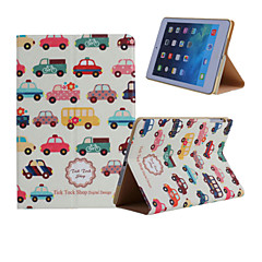 林檎 iPad mini/iPadのミニ2/iPadのミニ3 - フォリオケース ( PUレザー , 雑色 ) - カートゥン