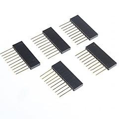 아두 이노를위한 여성 핀 헤더에 높은 품질의 2.5MM 피치 10 핀 남성 (5 개)