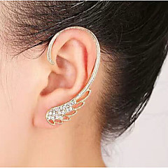 European Diamond Wing Alloy Ear Cuffs(Gold,Silver)(1Pc)