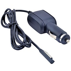 Black 1.2M 12V 2A Cable Battery Car Charger Power Adapter Supply for Microsoft Windows Surface RT 10.6 Tablet PC