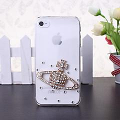 caso duro estilo mars diy diamante de plástico para iphone 5s